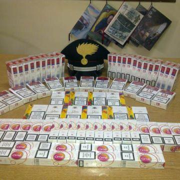 Operazione contro il contrabbando di sigarette. Sequestrati oltre mille pacchetti di tabacchi lavorati esteri.