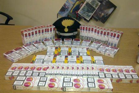Controlli a tappeto. Sequestrate 252 stecche di tabacchi lavorati esteri.