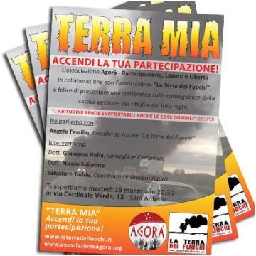 Associazione Agora, continua la lotta contro i roghi tossici