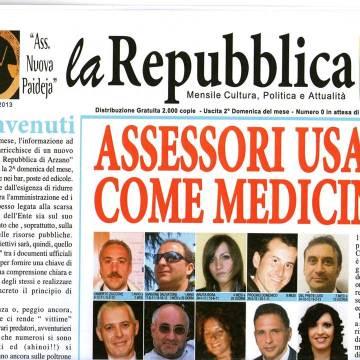 """Nasce """"La Repubblica di Arzano"""", il nuovo mensile dell'associazione Nuova Paideja"""
