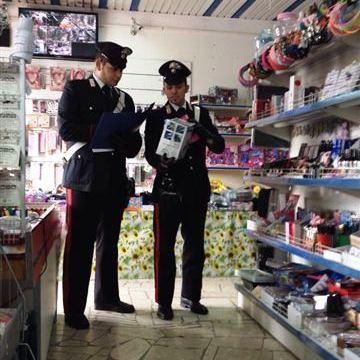 Negozi cinesi; falso marchio CE a giocattoli e prodotti elettronici. 250 Mila euro di merce sequestrata