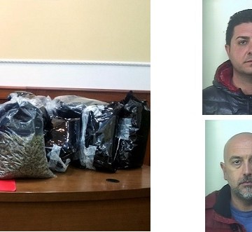 Napoli, ingente sequestro di amnesia, era nascosto tra i tergicristalli. Arrestate quattro persone