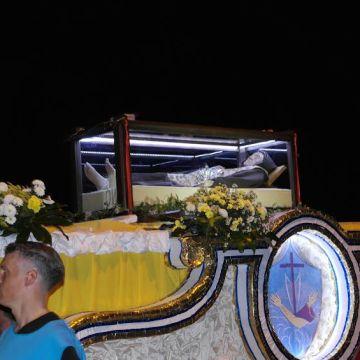 Commozione e gioia per l'arrivo dei resti mortali di Beato Modestino di Gesù e Maria