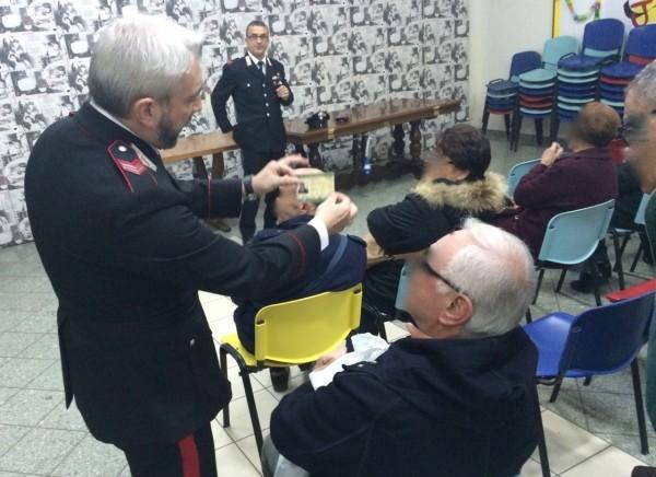 Truffe agli anziani; ecco i consigli dei carabinieri