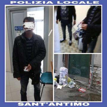 Sant'Antimo, è caccia agli inquinatori. Controlli capillari da parte del comandante della polizia locale Biagio Chiariello