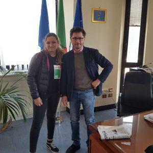 Napoli, new entry nella federazione giovanile dei Verdi. Alessia Alviti, figlia di Giuseppe, accolta con entusiasmo dal deputato regionale Francesco Emilio Borrelli