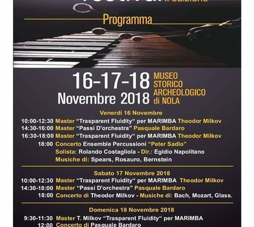 Nola, tutto pronto per la seconda edizione del 'Nola International Percussion Festival'