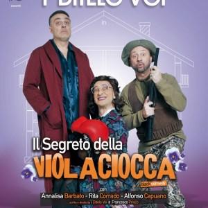 """Napoli, Trianon Viviani da giovedì 15 novembre – I DITELO VOI e la comicità surreale del """"Segreto della Violaciocca"""""""