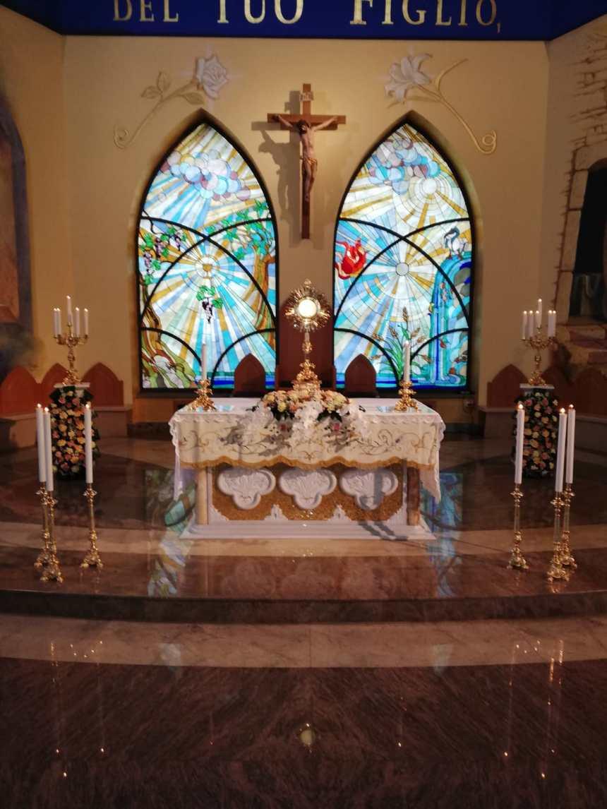 Grumo Nevano, volge al termine la settimana eucaristica presso la Parrocchia Madonna del Buon Consiglio