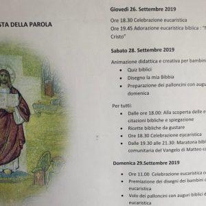 """Grumo Nevano, maratona biblica alla Madonna del Buon Consiglio. Preparate per la prima volta pietanze con """"ricette bibliche"""""""