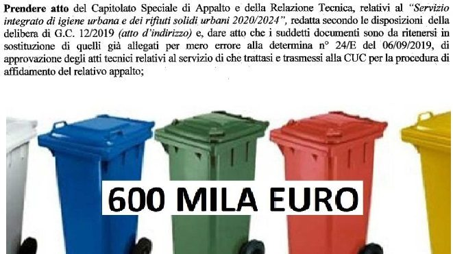 Grumo Nevano, corretto il capitolato d'appalto sui rifiuti. La città deve sapere la verità sui 600 mila euro per i bidoni