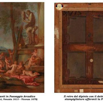 Accademia di Belle Arti di Napoli: restituito un dipinto rubato nel 1975