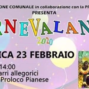 """CARNEVALANDO  2020 – """"A spasso nel tempo"""". Piana Monte Verna presenta il suo Carnevale"""