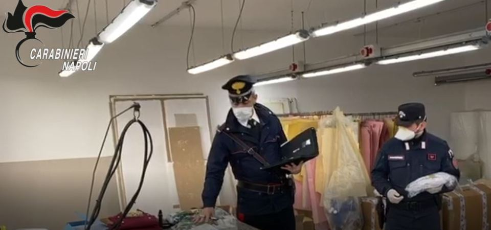 Coronavirus, 11 mila mascherine illegali sequestrate. Imprenditrice denunciata (video)