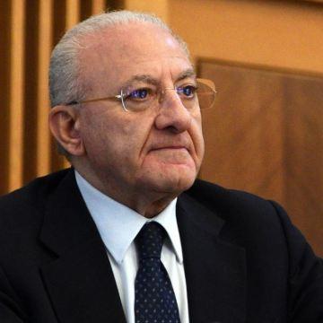 Coronavirus, De Luca annuncia lo screening di massa in Campania