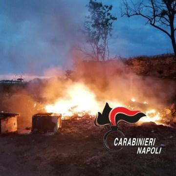 Incendiavano i rifiuti invece di smaltirli. Denunciati 3 agricoltori