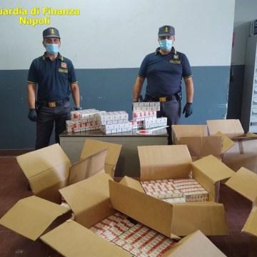 Contrabbandiere col reddito di cittadinanza. Arrestato con un carico di 190 kg di sigarette