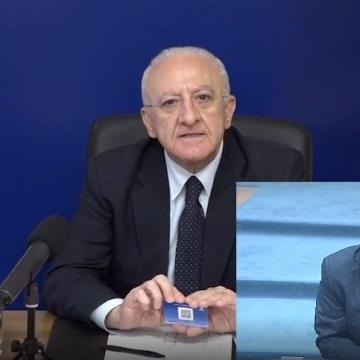 """Passaporto vaccinale della Campania: """"Uno spreco di 3milioni e mezzo di euro"""". La question time di Saiello in giunta regionale. Video"""