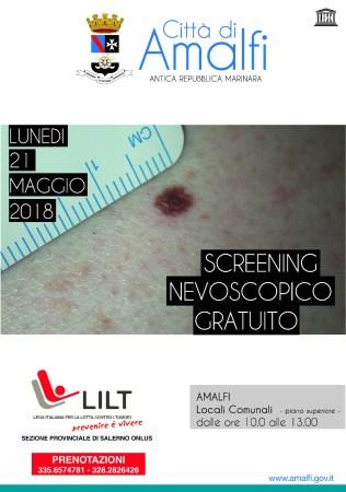 Screening nevoscopico