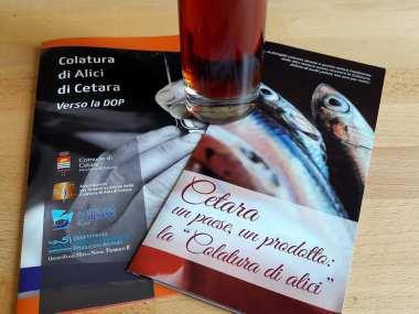 Brochure Colatura di Alici di Cetara