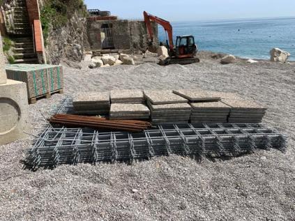 Erchie - Torre La Cerniola - lavori in corso 1
