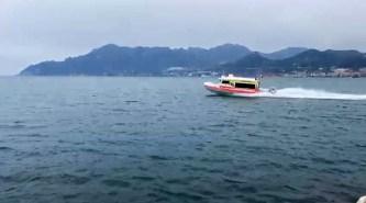 Ambulanza del mare in navigazione