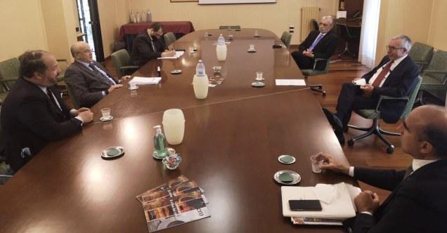 delegazione algerina presso Confindustria