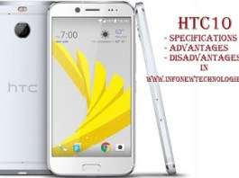 HTC 10 Specifications, Advantages and Disadvantages