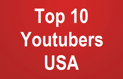 Top 10 Youtubers in United States American
