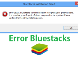 Fix Bluestacks Error