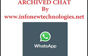 Archive WhatsApp Chat