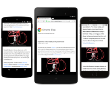 Best Android Browsers, google chrome
