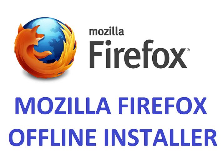 download firefox offline installer xp