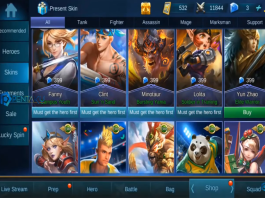 free skin in mobile legends