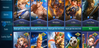 free skin in mobile legends