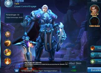 Tigreal Hero Guide, Tigreal Hero