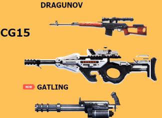 Best Weapons in Free Fire