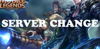 Change Mobile Legends Server
