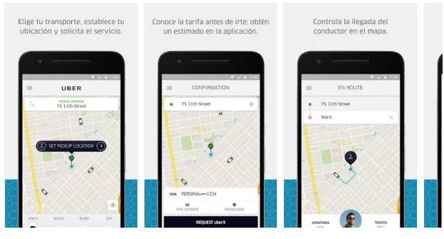 Uber Taxi App Android