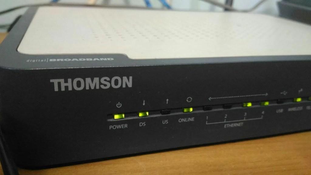 Senha modem Thompson