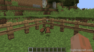 How to get leather in minecraft step 3