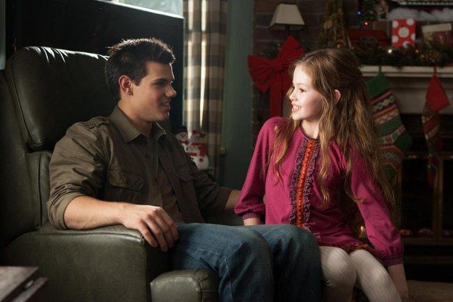 Imagen de Taylor Lautner en la última entrega de Crepúsculo