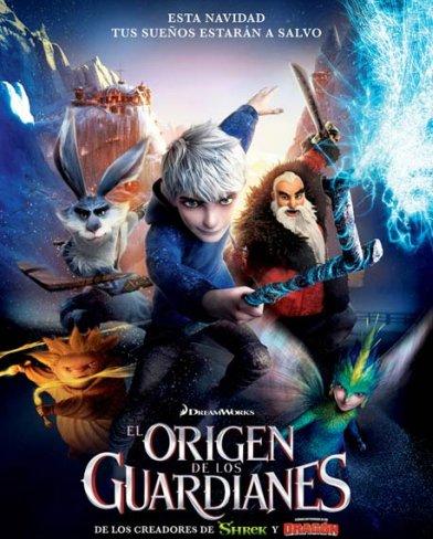 El cartel de El Origen de los Guardianes