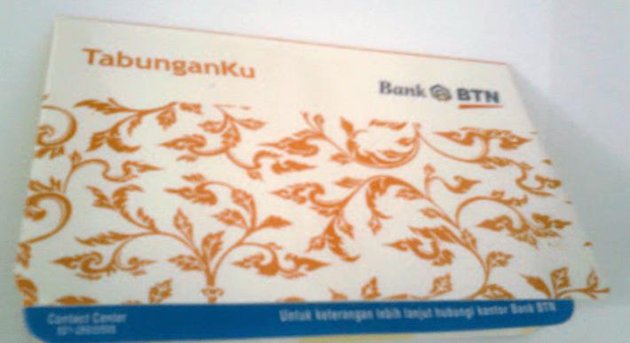 Buku Tabunganku Bank BTN
