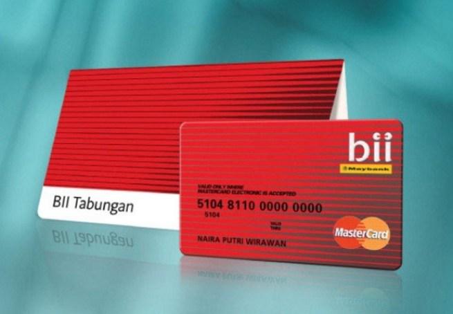 Buku Tabungan Reguler Bank BII Maybank