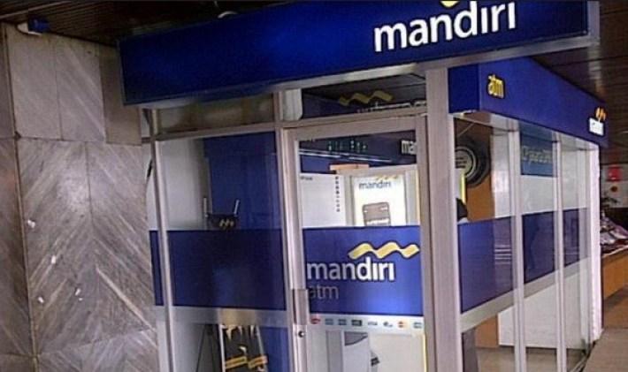 Mesin ATM Bank Mandiri Konvensional