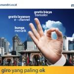 Simpanan Rekening Giro Bank Mandiri