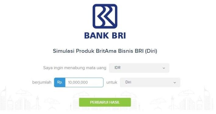 Tabungan Britama Bisnis Bank BRI