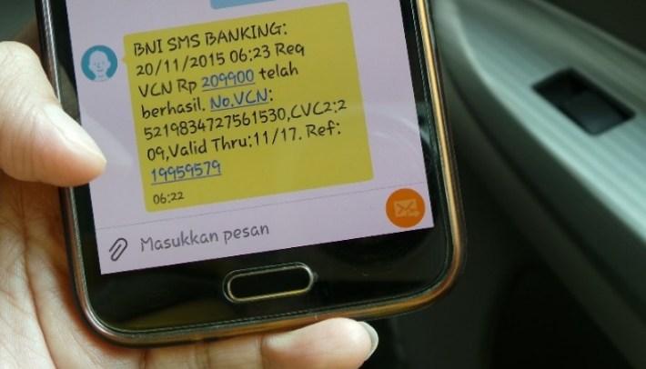 Format Transfer BNI SMS Banking