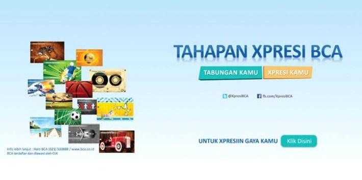 Tabungan Xpresi Bank BCA